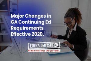2020-Georgia CEU-LPC-Requirements