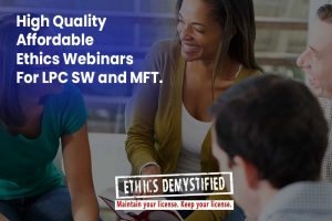 Find LPC Workshops in Georgia | Ethics CEs