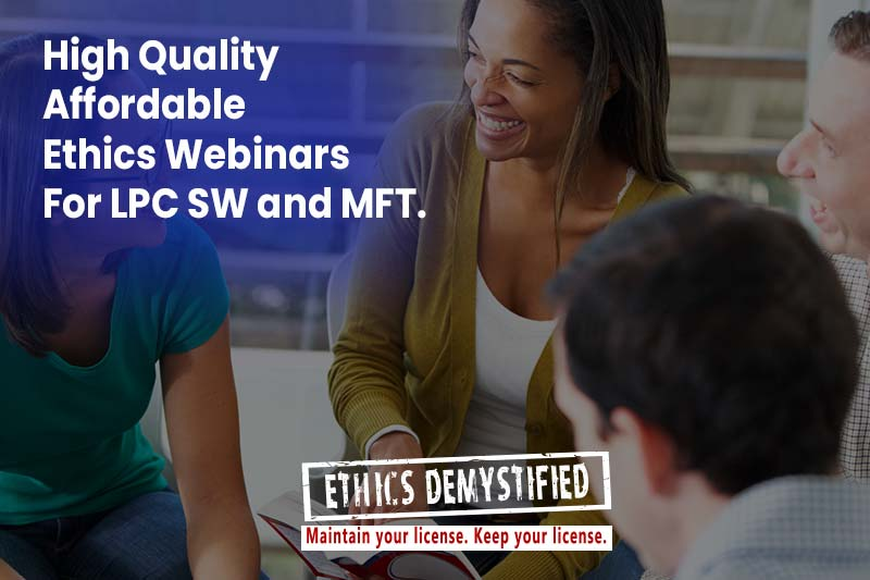 Ethics Demystified: Find LPC Workshops GA Ethics