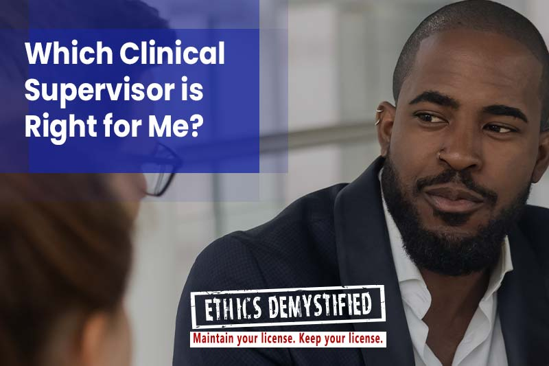 Ethics Demystified: Find a Clinical Supervisor in GA LPC